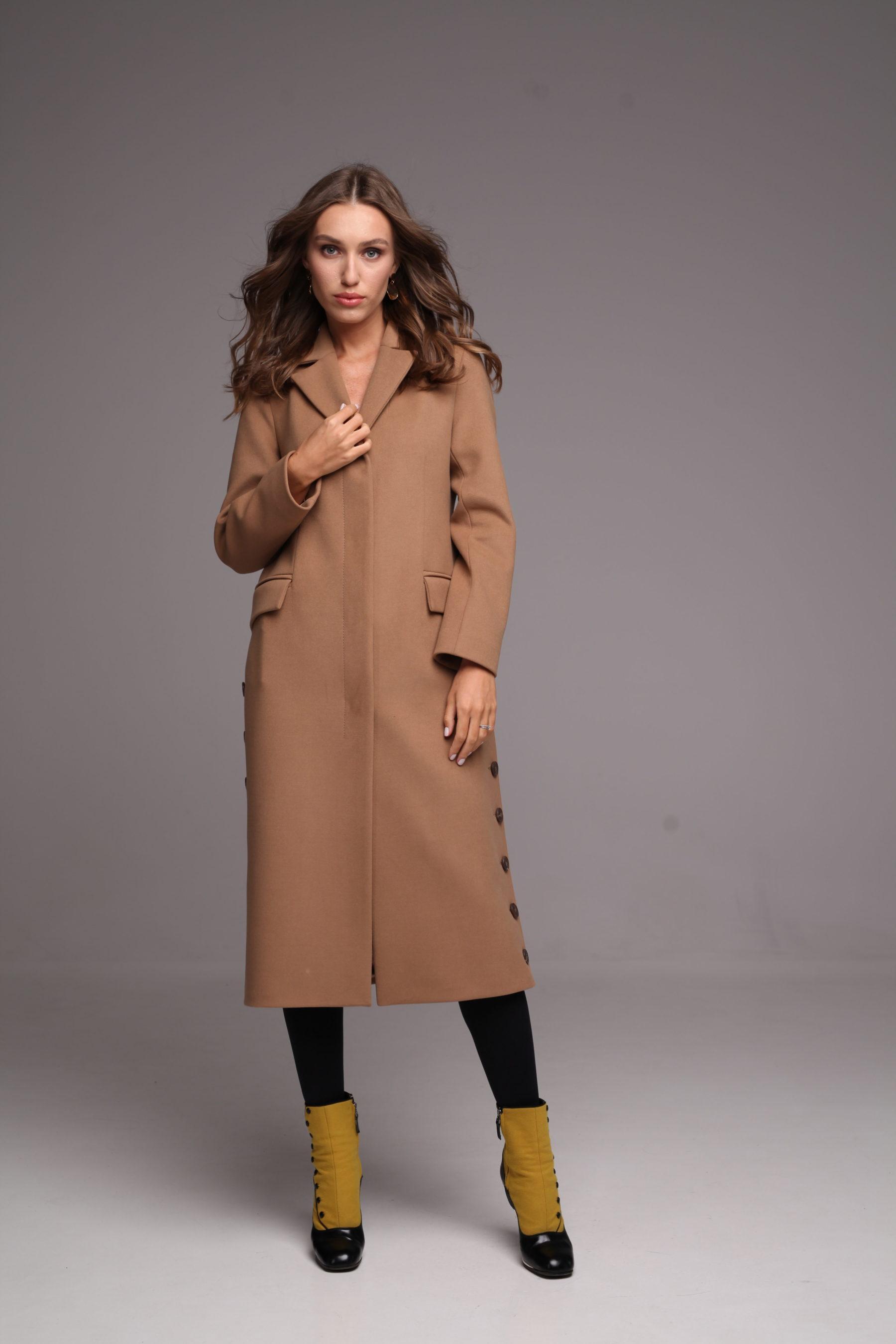 Удлиненное пальто классического кроя 1