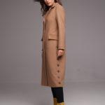 Удлиненное пальто классического кроя 3