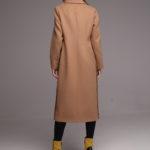 Удлиненное пальто классического кроя 4