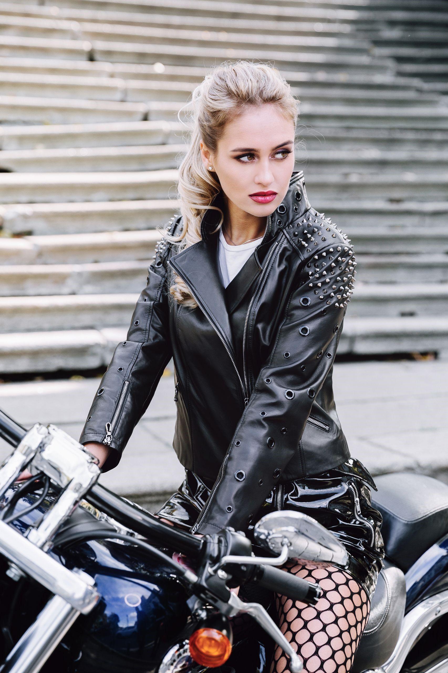 Кожаная куртка — как выбрать под тренды 2019 года
