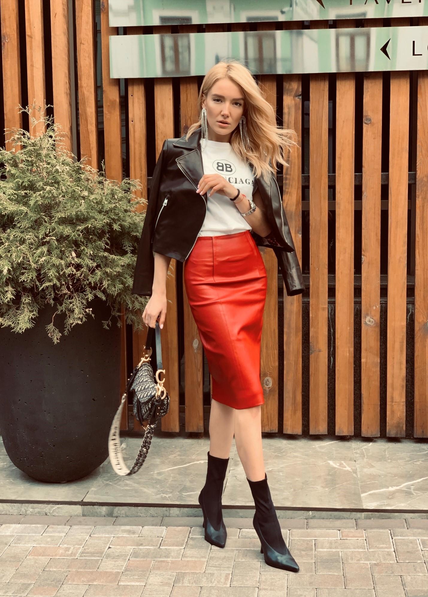 Кожаная куртка - как выбрать под тренды 2019 года 3