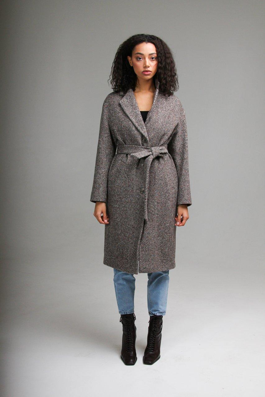 Пальто средней длины 1