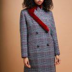 Кашемировое пальто с воротом из норки 4