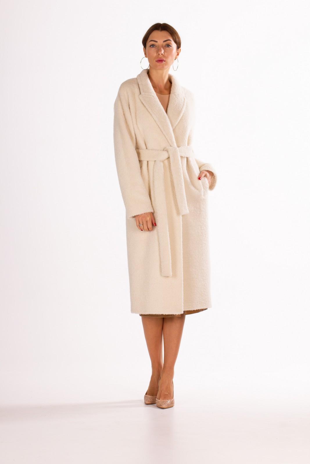 Пальто двубортное, на потайных кнопках 1