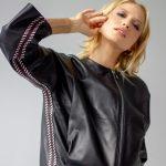 Кожаная куртка в черном цвете 3