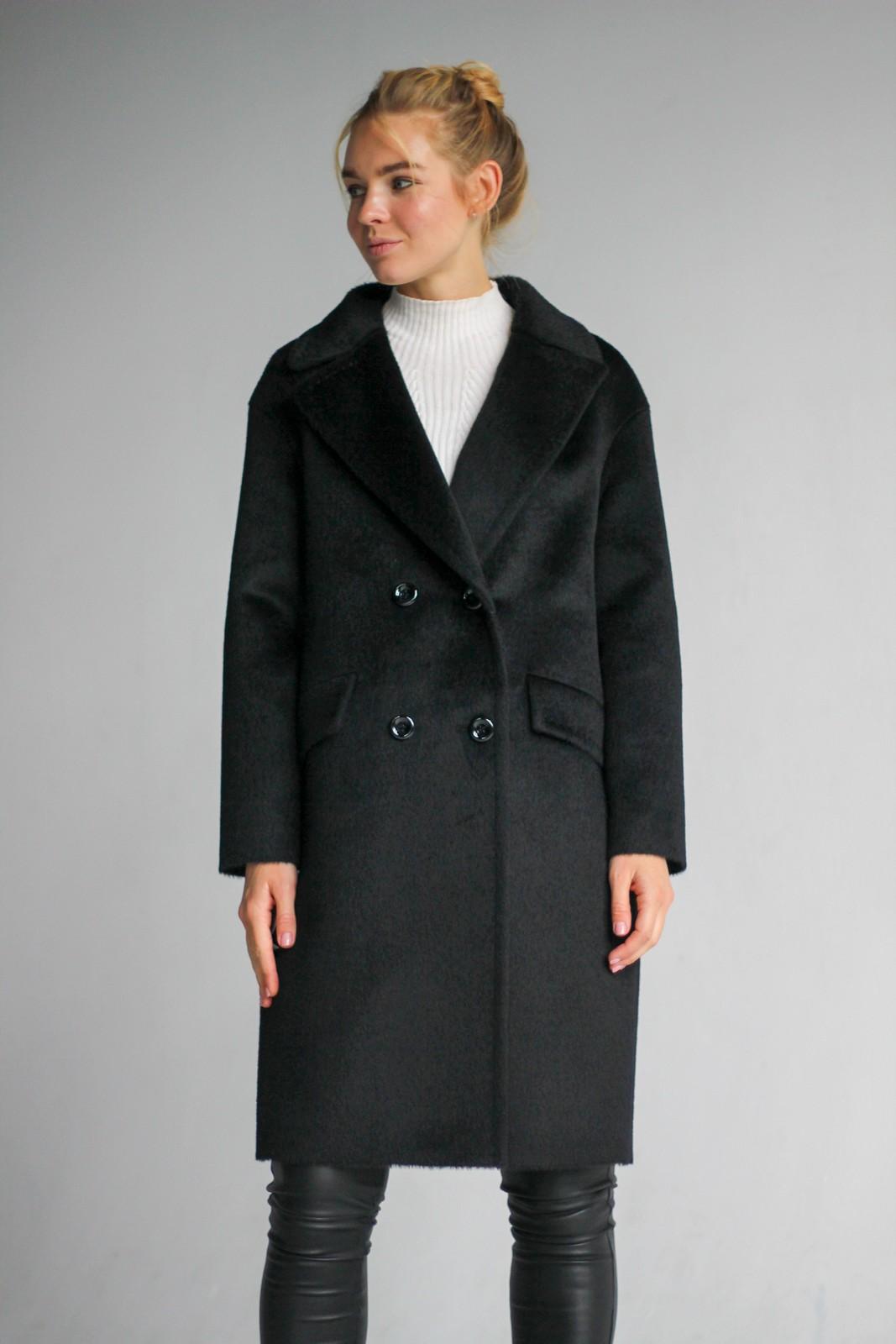 Шерстяное пальто на пуговицах 1