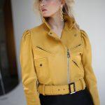 Шикарная кожаная куртка - косуха в стиле 90-х 2