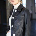 Куртка из натуральной кожи черного цвета 3