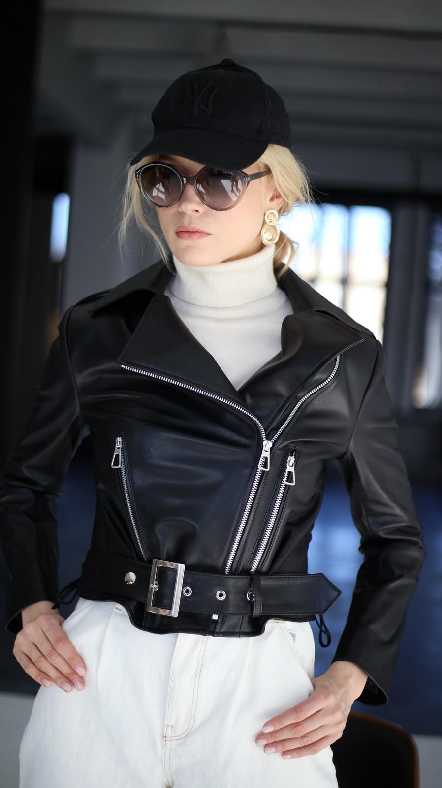 Куртка - косуха из натуральной кожи 1