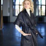 Платье - пальто из натуральной кожи 3