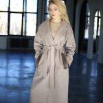 Классическое пальто из натуральной шерсти мериноса и кашемира 4