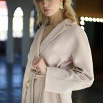 Классическое пальто из натуральной шерсти мериноса и альпаки 5