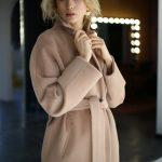 Классическое пальто из натуральной шерсти мериноса и альпаки 4