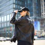 Кожаная куртка - косуха в стиле Кроко 3