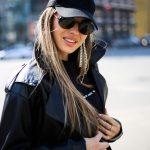 Кожаная куртка - косуха в стиле Celine 3