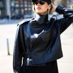 Кожаная куртка - косуха в стиле Celine 2