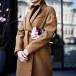 Шикарное пальто из натуральной шерсти в цвете кэмел 4