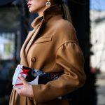 Шикарное пальто из натуральной шерсти в цвете кэмел 3