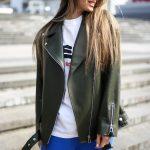 Стильная куртка - косуха из натуральной кожи в удлинённом варианте 3