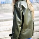 Стильная куртка - косуха из натуральной кожи в удлинённом варианте 4