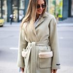 Пальто из натуральной тонкой и нежной шерсти 3