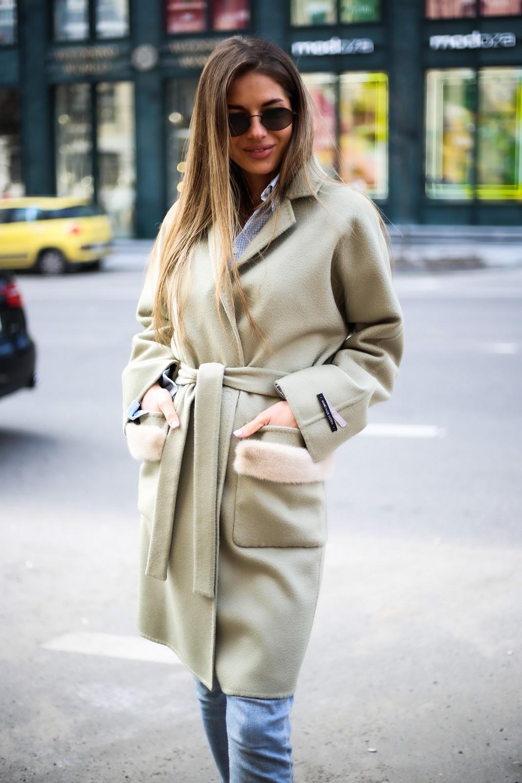 Пальто из натуральной тонкой и нежной шерсти 1