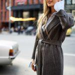 Очень стильное пальто из тонкой натуральной шерсти 5