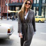 Очень стильное пальто из тонкой натуральной шерсти 3