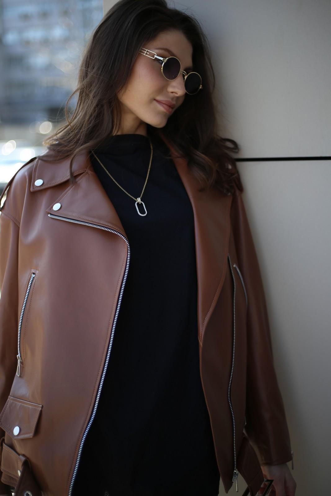 Куртка - косуха цвета виски 1