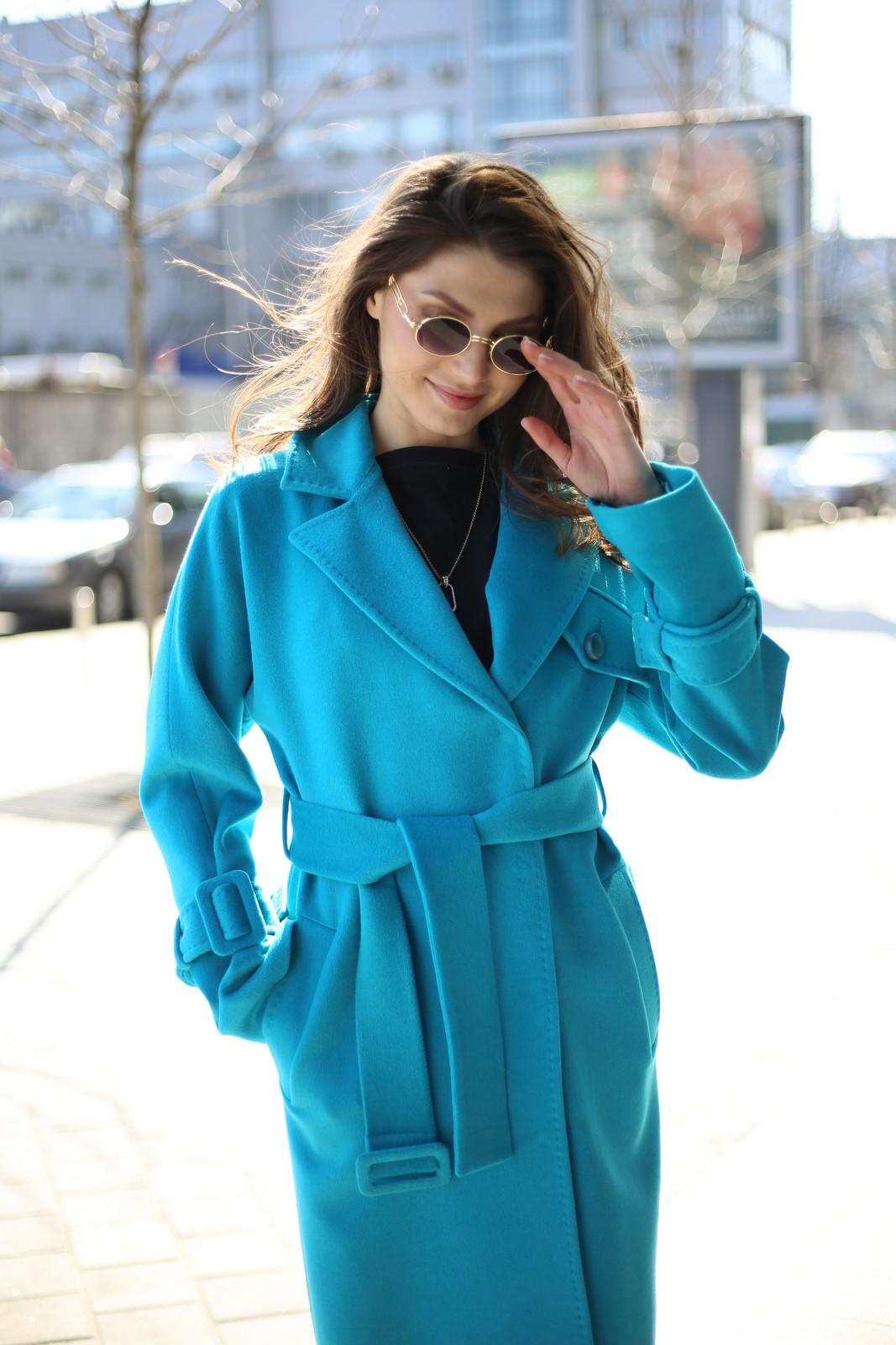 Пальто из шерсти и кашемира 1