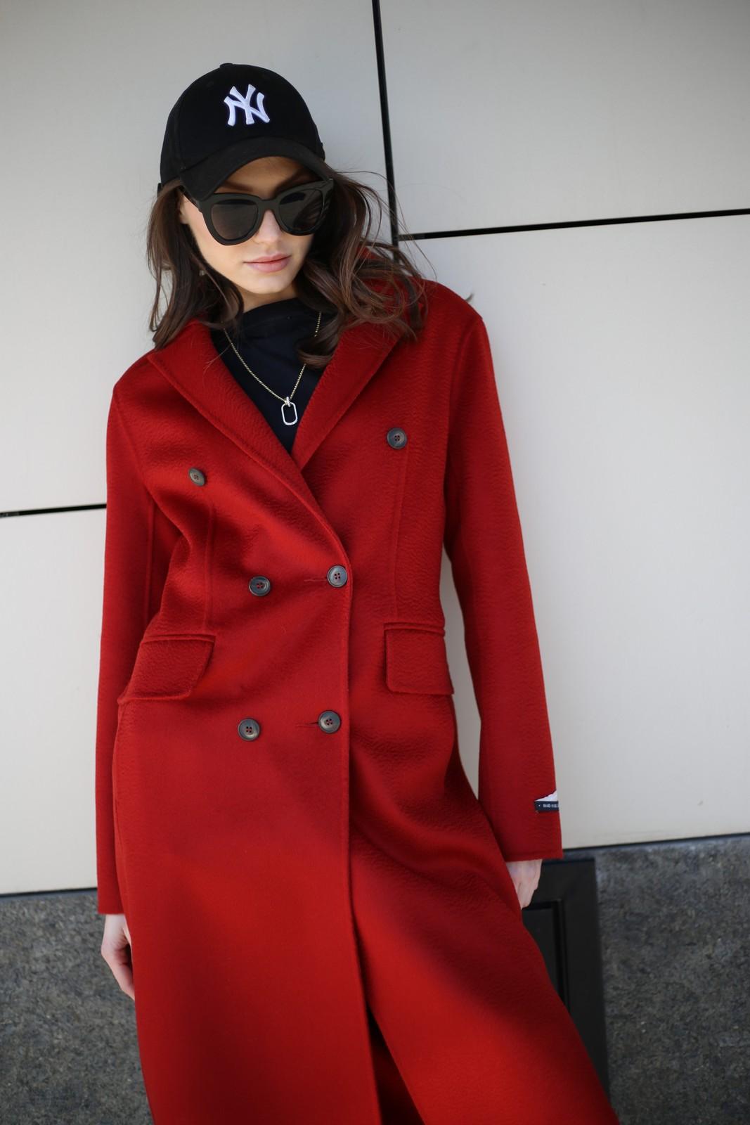 Пальто из натуральной шерсти 1