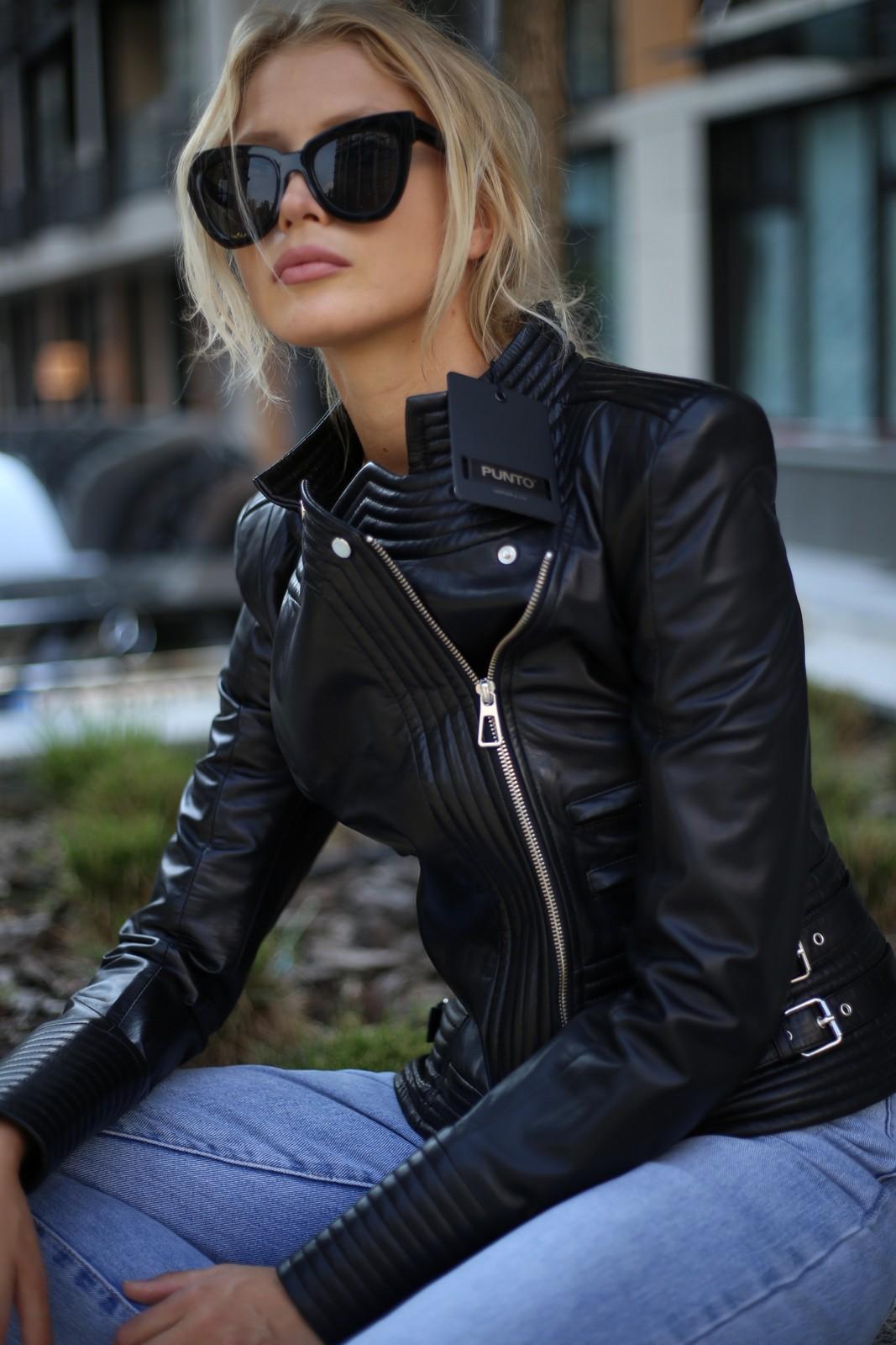 Куртка из натуральной кожи 1
