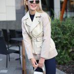 Комбинированная куртка из натуральной кожи и кашемира ванильного цвета . 4