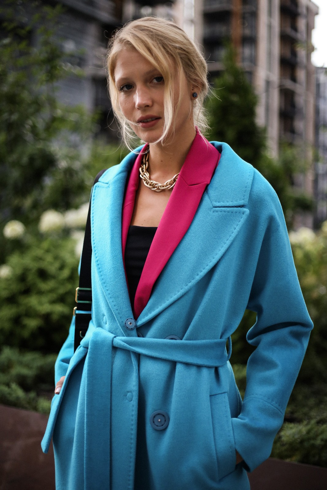 Пальто из шерсти альпаки и кашемира. 1