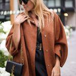 Пальто пончо из шерсти альпаки и кашемира цвета корицы. 2