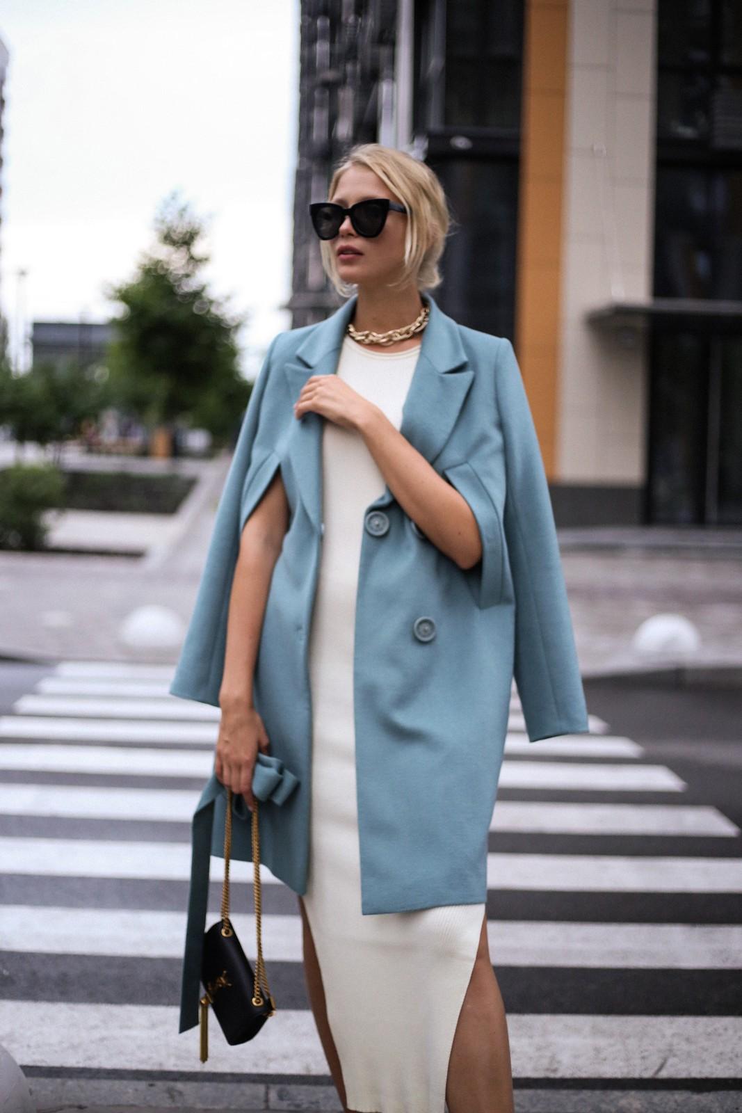Пальто из кашемира и шерсти альпаки 1