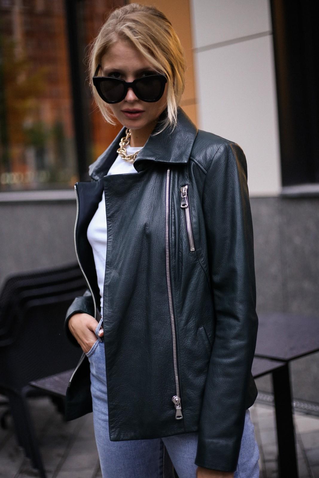 Куртка - косуха из натуральной кожи. 1